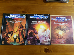 2nd AD&D Core Rulebook Supplements Huntingdale Gosnells Area Preview