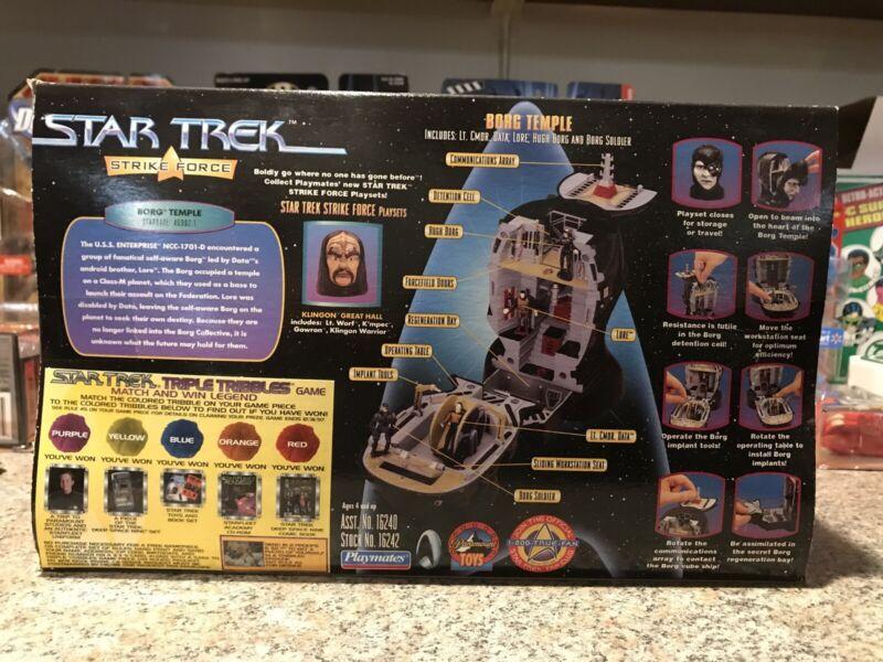 Star Trek Strike Force Borg Temple Head 1997