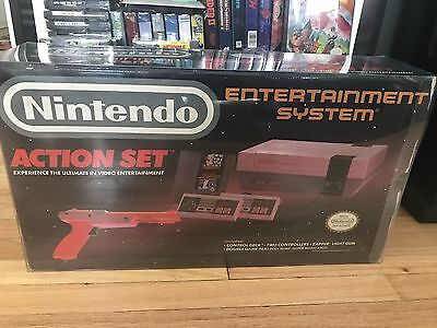 1 Box Protector   Nintendo Entertainment System Nes Action Set W  Locking Tabs