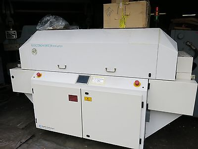 Speedline Electrovert Bravo 4050 Convection Reflow Belt Oven For Pcb Production.