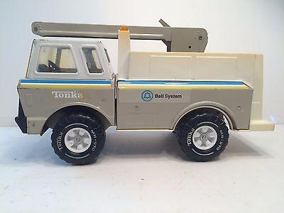 Tonka Mighty Bucket Truck Tonka Bell System Boom Truck Vintage 1970s