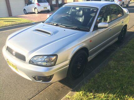 2003 Subaru Liberty 2.0L B4 Twin Turbo Manual