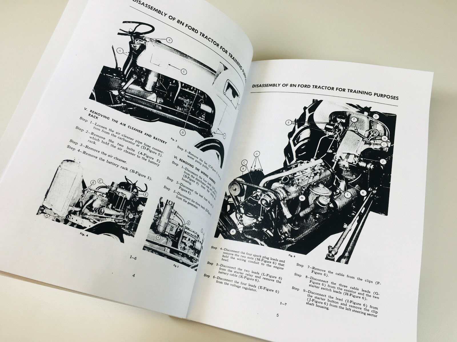 Ford 8n Tractor Shop Manual Service Technical Repair New Print 2n 9n Wiring Diagram For Most Manuals Booklets Really Are Lacking In Carburetor Engine Overhaul How To Info And Even Basic Troubleshooting Methods The
