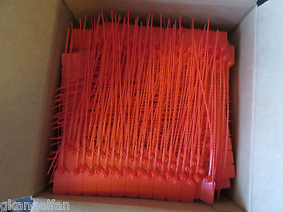 50-fire Extinguisher Tamper Flag Seals 10 Safety Pull Pins