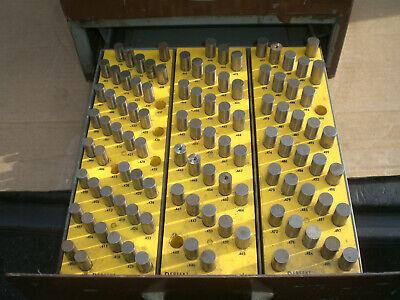 Ekonogage Pin Gage Set In 3 Draw Storage Cabinet .061 To ..500
