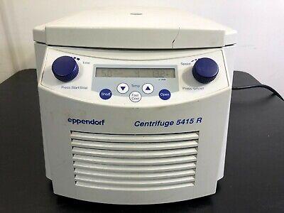 Eppendorf 5415r Centrifuge Refrigerated W F45-24-11 Rotor 5415 R 120v Warranty