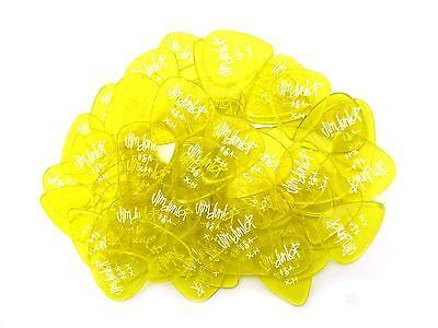 Dunlop Guitar Picks  Gel  72 Pack  Extra Heavy  Yellow