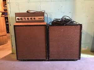 Fanon Tube Amplifier and Vintage Speakers