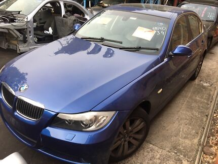 BMW E90 323i Blue 2008 automatic now wrecking Northmead Parramatta Area Preview