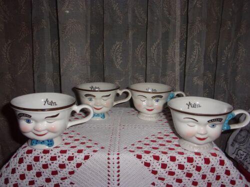 vntg 1996 Baileys Irish cream winking eye Mr. & Mrs. YUM coffee tea mug cup NOS