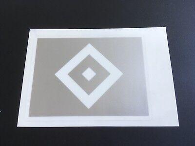 - HSV Raute in silber - Maße: 5x8 cm (Aufkleber In Massen)