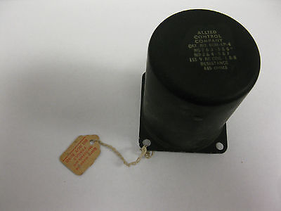 Allied Control Company Boh-xp-4 Electromagnetic Relay 115v Ac Coil 445ohms