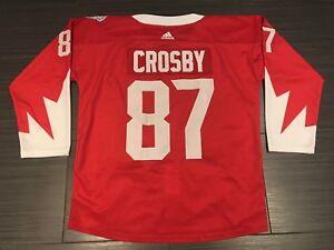 2016 Adidas Team Canada Sidney Crosby Hockey Jersey 3XL