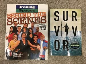 Reality Show Books (Trading Spaces and Survivor)