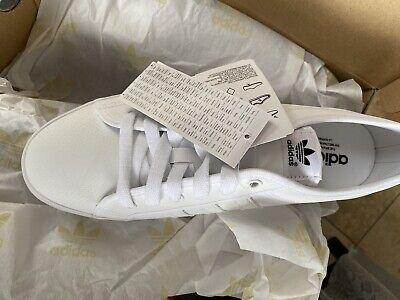 Mens White Adidas Nizza Lo Size 10 BNIB