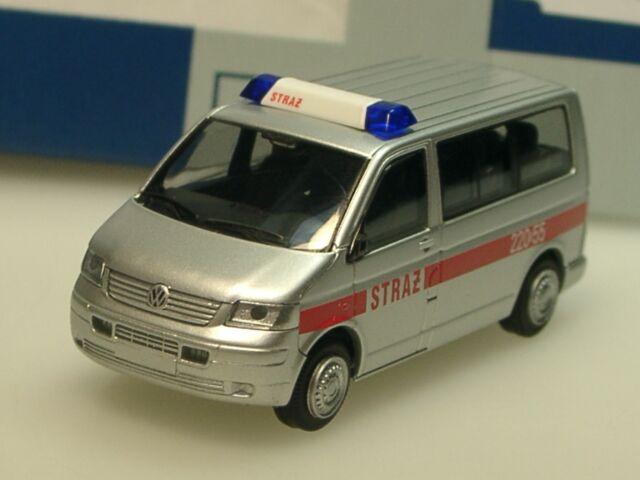 Rietze VW T5 STRAZ / 22055, silber - 51878 - 1/87