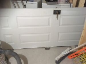Front entry door with padlock password  entry lock on it