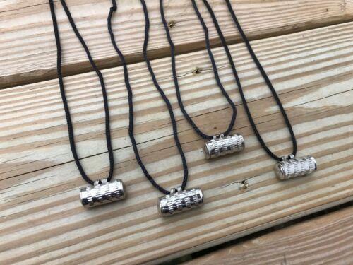 Lot of 4 Taweez Pendant Luck Necklace Spirit Locket Religion Amulet Black Cord