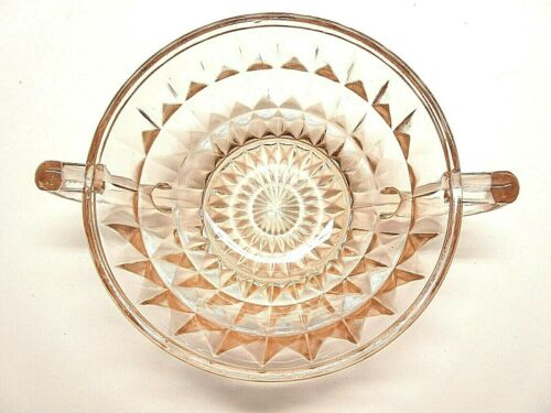 Vintage Pink Windsor Cream Soup Bowl / Jeannette Glass Co / Hard To Find