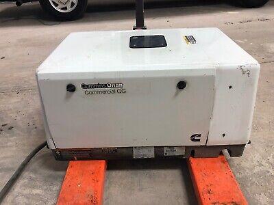 Cummins Onan Hgjae-6758 7000 Watt Commercial Mobile Quiet Gas Generator