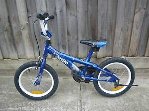 """NITRO BURN OUT 16""""TYRE CHILDRENS BMX BICYCLE 16""""BIKE KIDS CYCLING Malvern East Stonnington Area Preview"""