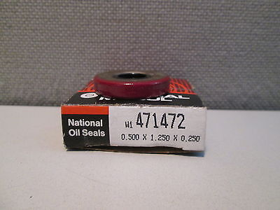 471472 National Oil Seal