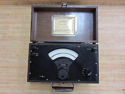 Singer Model Mi Model Mi Antique A.c. Voltmeter Vintage 39091