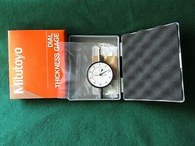 Mitutoyo 2412f 7300 Dial Drop Indicator For Dial Thickness Gage. .001 Grad. New.