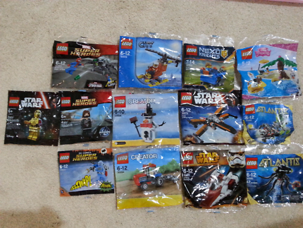 Lego Polybags  NEW