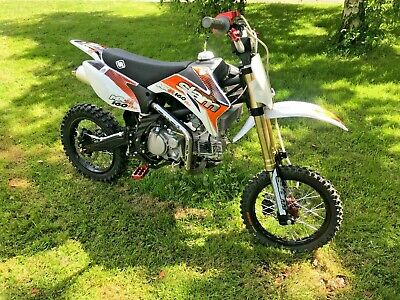 SECOND HAND PITBIKE QUADZILLA SLAM MXR 160 ADULT PIT BIKE 160cc MX MOTORCYCLE
