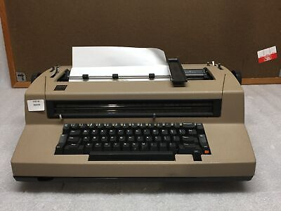 Vintage Ibm Correcting Selectric Iii Typewriter Z And Y Buttons Not Working