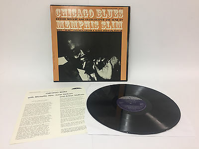 Memphis Slim - Chicago Blues   mit Beilage   Folkways    LP: Near Mint