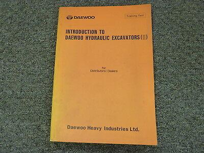 Daewoo Dh130-2 Dh170 Dh280 Excavator Hydraulic Electrical Wiring Diagram Manual