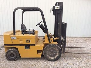 Cat V50D indoor/outdoor Forklift 5000#
