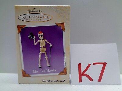 HALLOWEEN Hallmark Keepsake Ornament 2003 MR TAP HAPPY NIB K7