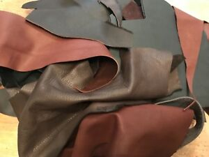 5KG Bag Of Mixed Quality Leather Arts & Crafts,Off Cuts,Scrap booking