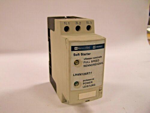 NEW  TELEMECANIQUE SQUARE D LH4N125RT7 SOFT STARTER 25.3A 15 HP 480 V