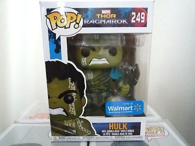 Funko Pop  Marvel Thor Ragnarok  Hulk  249 Walmart Exclusive