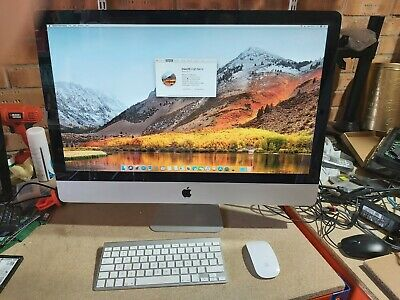 "Apple iMac mid 2010 27"", i7@2.93GHz, 32GB DDR3, 240GB SSD +1TB HDD, High Sierra"