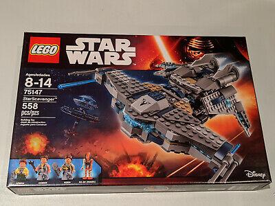 Lego Star Wars StarScavenger 75147 Retired New