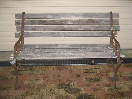cast iron bench seat Gumdale Brisbane South East Preview