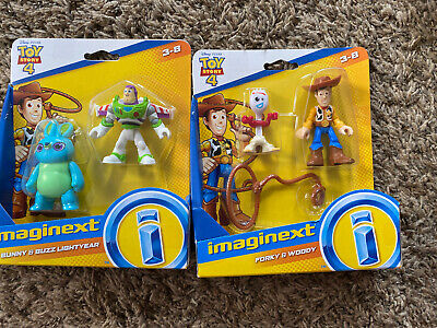 TOY STORY 4 IMAGINEXT Bunny, Buzz lightyear, Woody, Forky FISHER PRICE