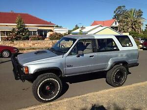 Lifted 88 Toyota 4 Runner Turbo Diesel with top mount intercooler Christies Beach Morphett Vale Area Preview