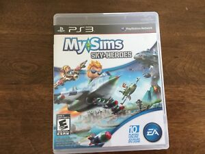PS3 Game My Sims Sky Heroes