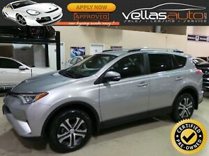 2017 Toyota RAV4 LE| AWD| BLUETOOTH| HEATED SEATS| R/CAMERA