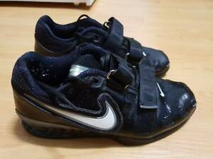 0aa0020f3809 Nike Romaleos 2 Weightlifting Shoes (Black  47 White-Cool Grey)