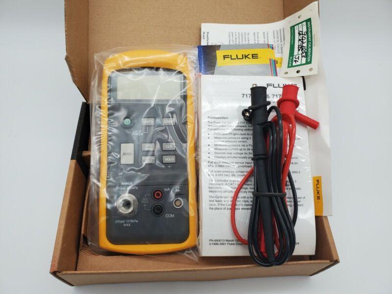 Fluke 717 100G Pressure Calibrator- New Open Box