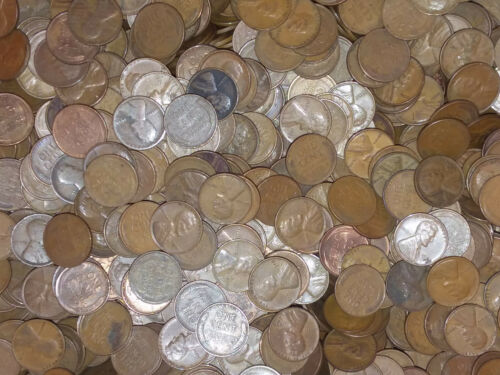 1000 WHEAT PENNY CENTS COIN LOT