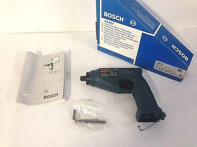 Bosch 2490 Exact Iasr Industrial Drilldriver 0602490401 9.6-12vp6-8 630-780