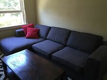 Freedom 3.5 seater modular with chase Rose Bay Eastern Suburbs Preview